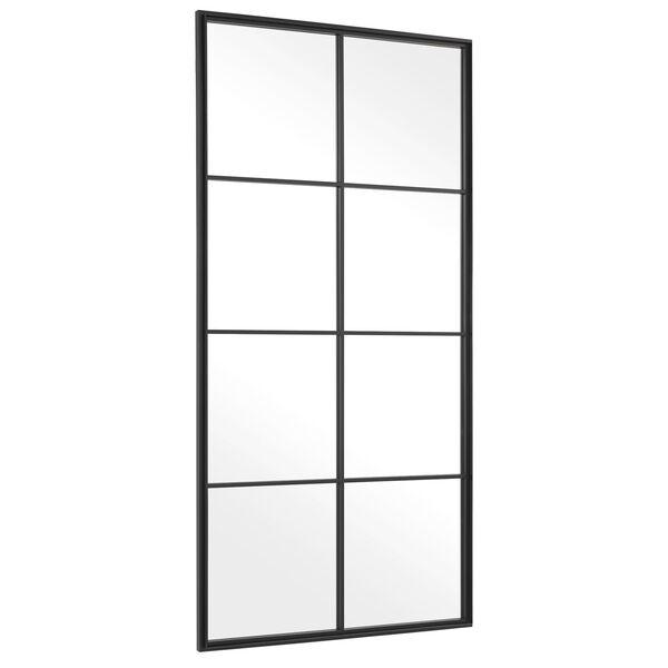 Rousseau Black Iron Window Mirror, image 4
