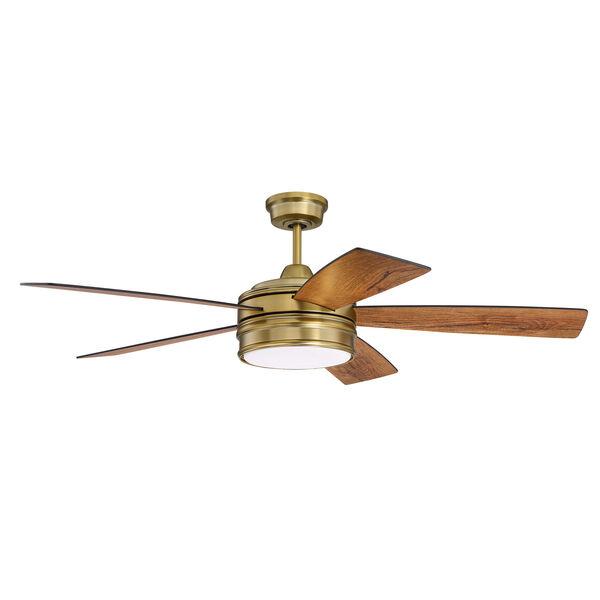 Braxton Satin Brass Led 52-Inch Ceiling Fan, image 3