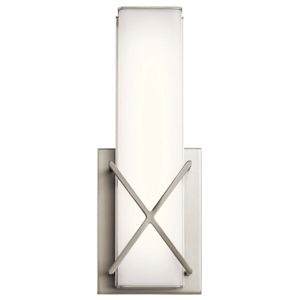 Trinsic Brushed Nickel LED Wall Sconce, image 2