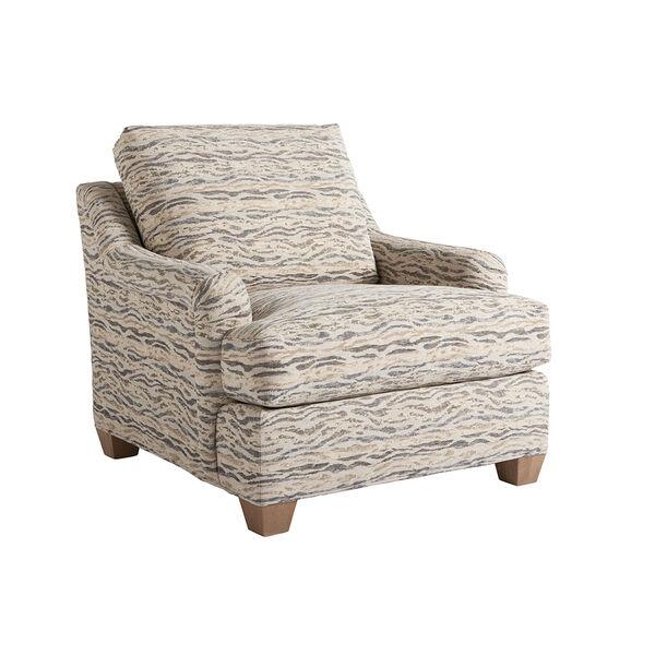 Los Altos Gold and Beige Barton Chair, image 1