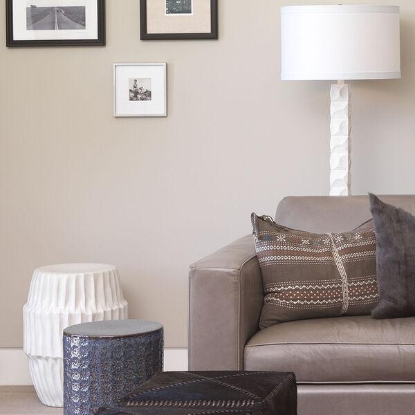 Astor Textured Matte White One-Light Floor Lamp, image 3