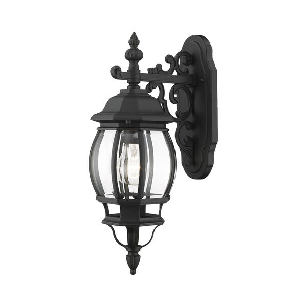 Frontenac Textured Black One-Light Outdoor Wall Sconce, image 6