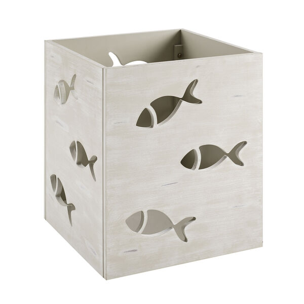 Camila Cream Square Fish Table, image 6