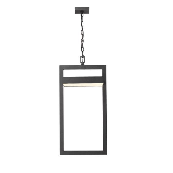 Luttrel Black One-Light LED Outdoor Pendant, image 4