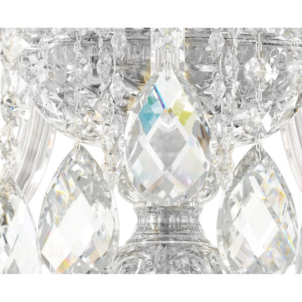 Sterling Polished Silver One-Light Wall Sconce, image 3