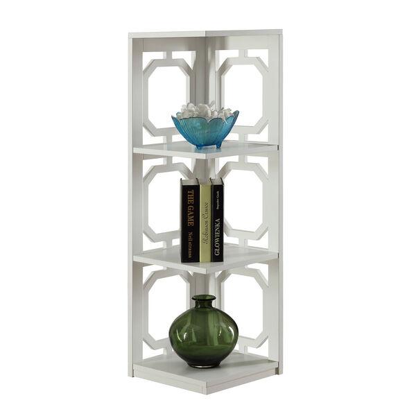 Omega 3 Tier Corner Bookcase, image 2