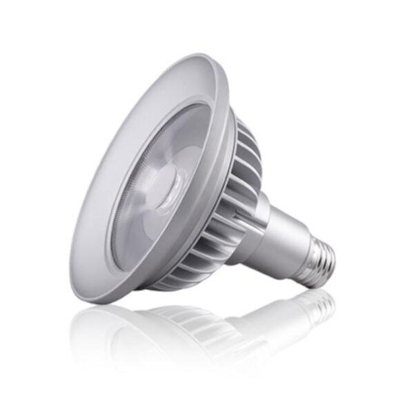 Silver LED PAR38 Standard Base Soft White 1230 Lumens Light Bulb, image 2