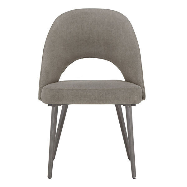 Xavier Gray and Black Dining Chair, Set of Two, image 2