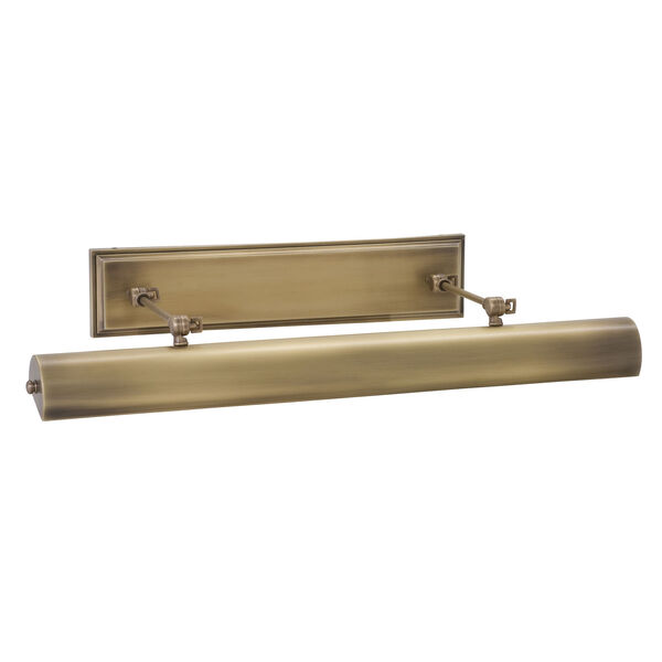 Oxford  Antique Brass One-Light LED Picture Light, image 1