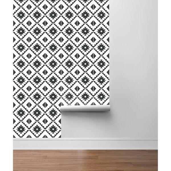 NextWall Southwest Tile Peel and Stick Wallpaper, image 4