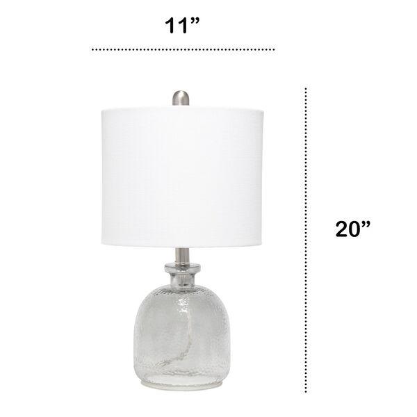 Cerise Smokey Gray White One-Light Table Lamp, image 3