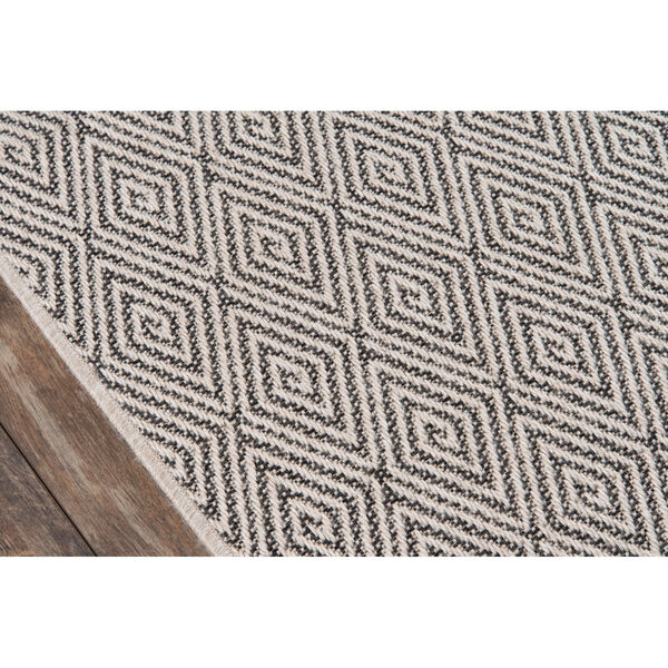 Downeast Wells Charcoal Rectangular: 6 Ft. 7 In. x 9 Ft. 6 In. Rug, image 4