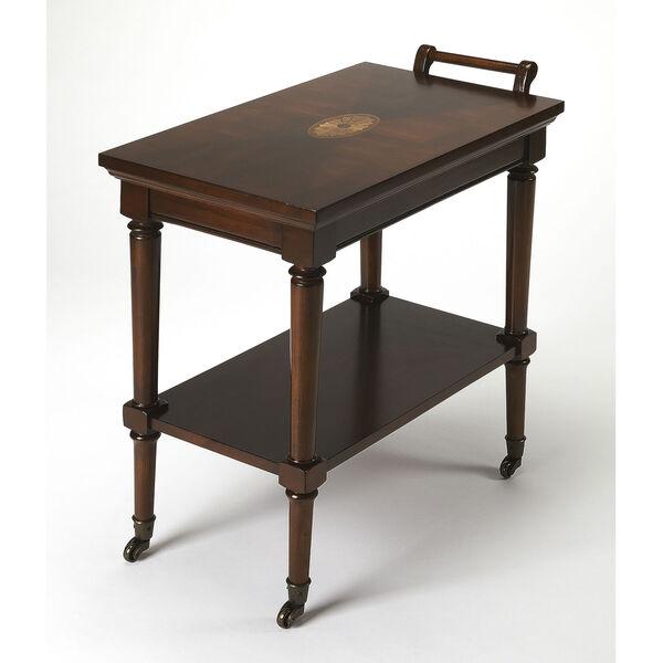 Brown Bar Cart, image 1
