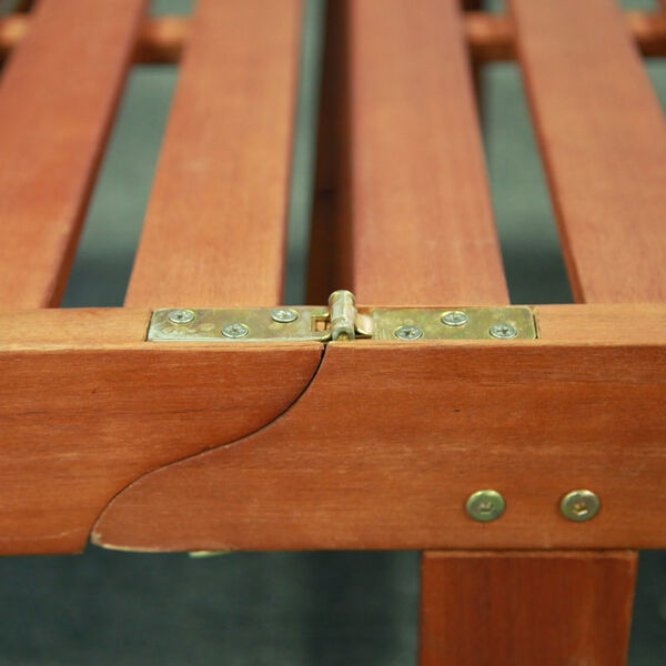 Single Outdoor Wood Chaise Lounge, image 6