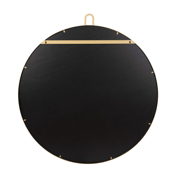 Stopwatch Gold Round Accent Mirror, image 3