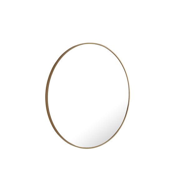Eternity Brass Round 32-Inch Mirror, image 4