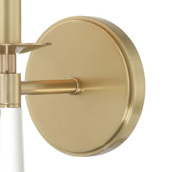 Baxter Aged Brass One-Light Sconce, image 4