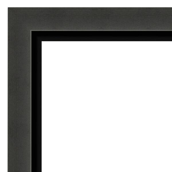 Tuxedo Black 34W X 28H-Inch Bathroom Vanity Wall Mirror, image 2