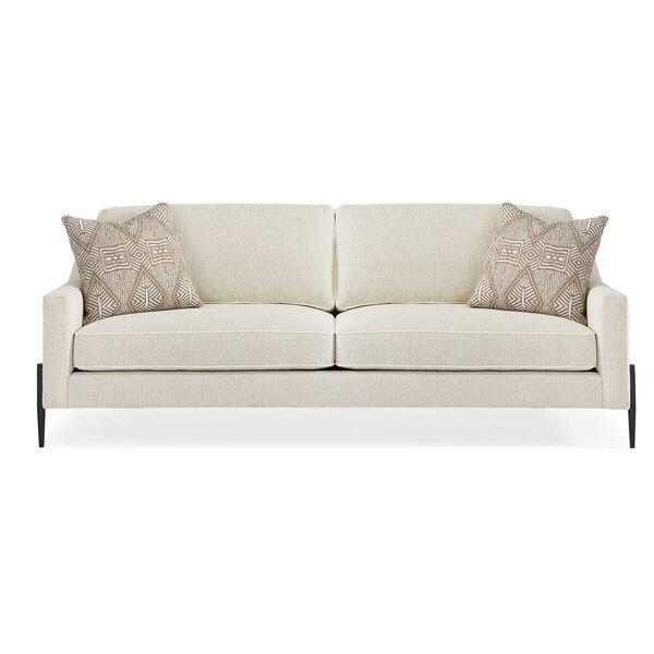 Modern Artisan Remix Ivory Sofa, image 4
