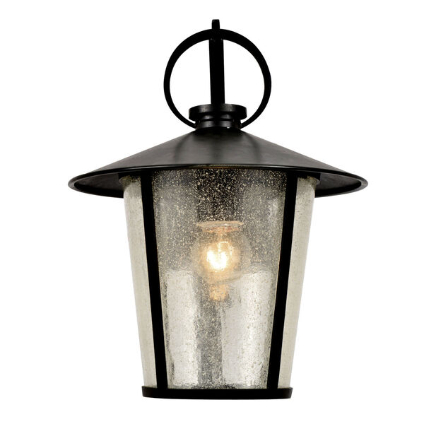Andover Matte Black One-Light Outdoor Wall Mount, image 2
