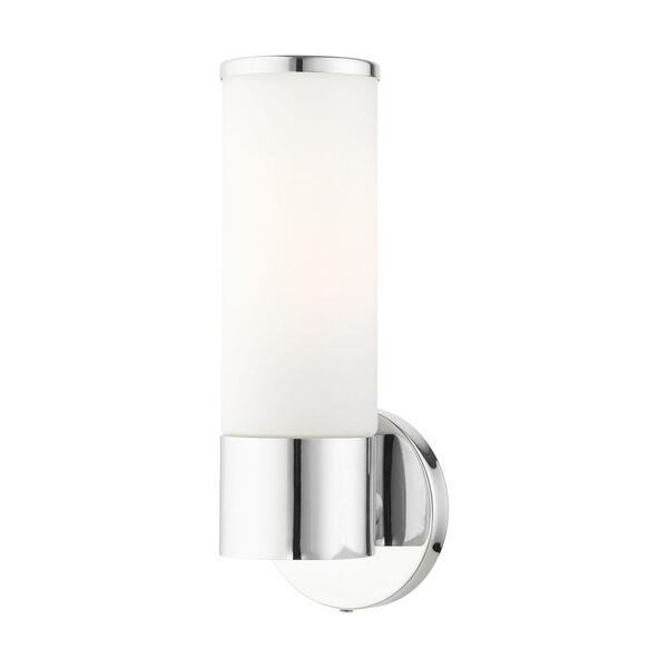 Lindale Polished Chrome One-Light ADA Wall Sconce, image 1
