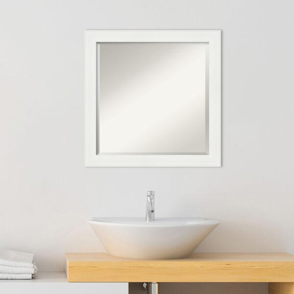 White 23W X 23H-Inch Bathroom Vanity Wall Mirror, image 3