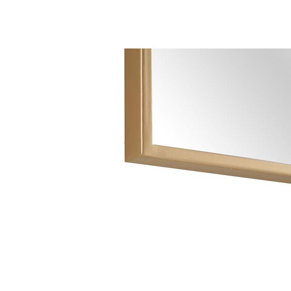 Eternity Brass 24-Inch Mirror, image 3