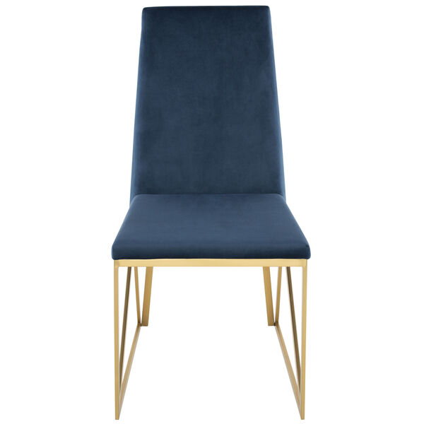 Caprice Peacock and Gold Dining Chair, image 6