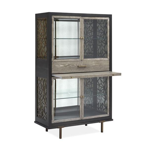 Ryker Black Display Cabinet, image 3