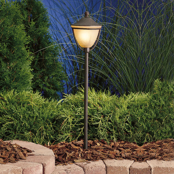 Textured Tannery Bronze 26-Inch One-Light Landscape Path Light, image 1