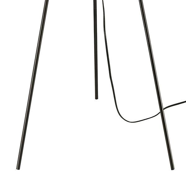Flemming Matte Black One-Light Floor Lamp, image 4