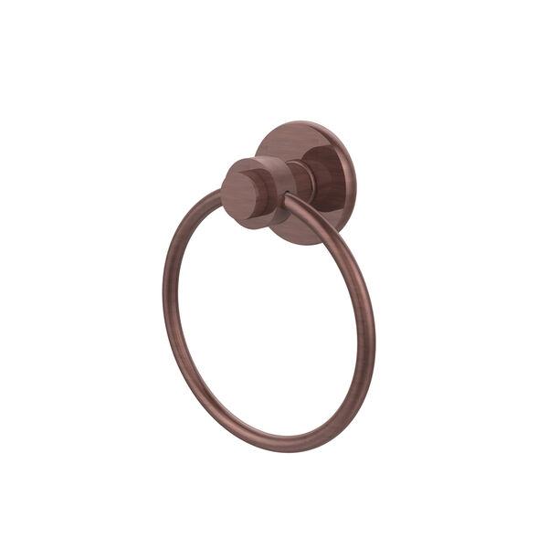 Mercury Antique Copper Towel Ring, image 1