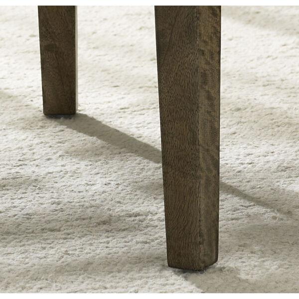 Alfresco Kubu Grey Rattan Stool, image 5