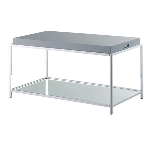 Palm Beach Gray Accent Coffee Table, image 5