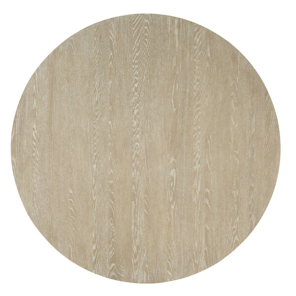 Cascade Taupe Round Pedestal Dining Table, image 2